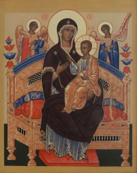 """Икона Божией Матери, именуемая """"Всецарица"""""""