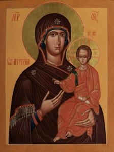 Смоленская икона Божией Матери, именуемая Смоленская