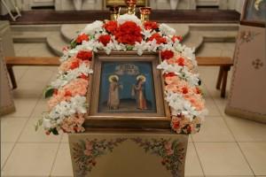 Икона святителей Афанасия и Кирилла
