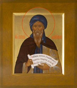 Преподобный Косма Маиумский, творец канонов