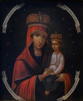 """Икона Божией Матери, именуемая """"Споручница грешных"""""""