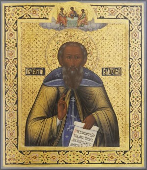 Преподобный Сергий, игумен Радонежский, всея России чудотворец